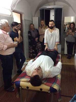 Пространство для массажа в клубе МАТЭ